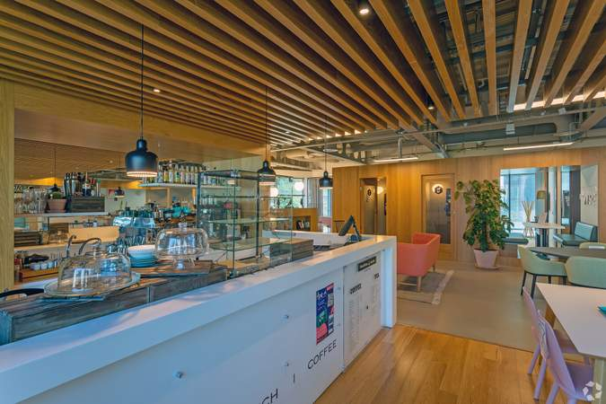 Cafe - Acero, Sheffield - Serviced office for rent - 50 to 15,000 sq ft
