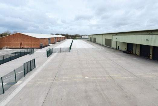 Secure, Fenced Site - Howley 80, Warrington - Industrial unit for rent - 78,621 sq ft