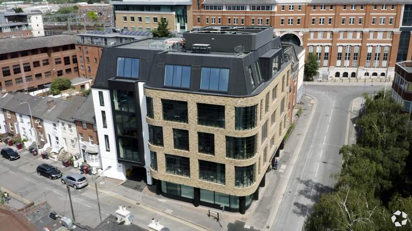 Aerial Video - The Brick Works, Reading - Office for rent - 3,358 to 11,840 sq ft