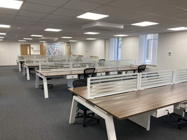 Fully Fitted Office Space - Suite 5C - Whitefriars, Bristol - Office for rent - 1,351 to 3,172 sq ft