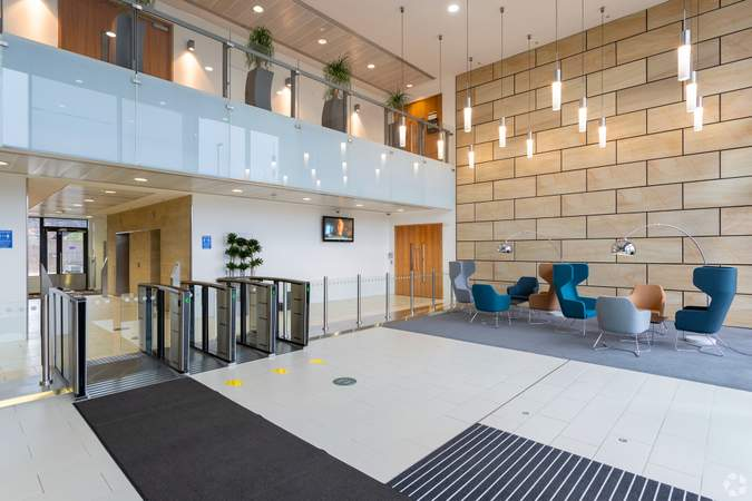 Lobby - No.1 Leeds, Leeds - Co-working space for rent - 100 to 13,902 sq ft
