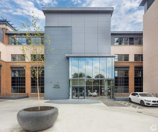 Entrance - Neo House, Aberdeen - Co-working space for rent - 9,000 to 30,000 sq ft