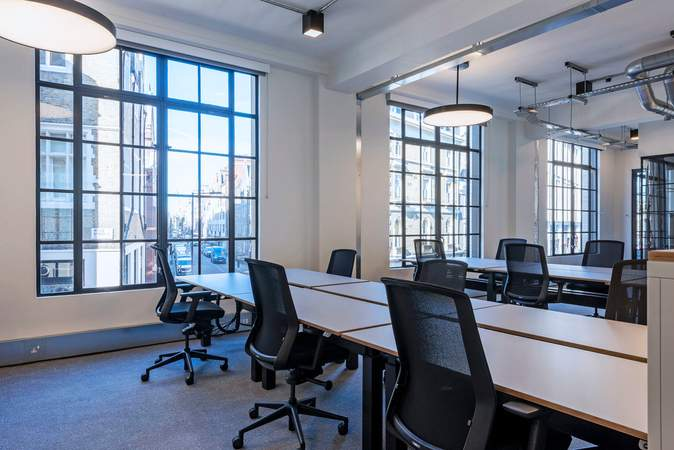Internal image - 19-23 Wells St, London - Office for rent - 2,754 to 5,508 sq ft