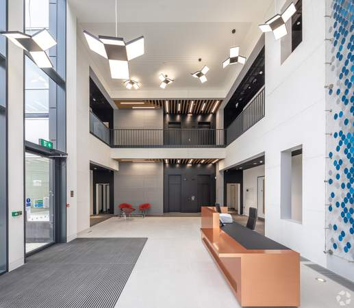 Lobby - Building 1330, Reading - Office for rent - 12,423 to 24,973 sq ft