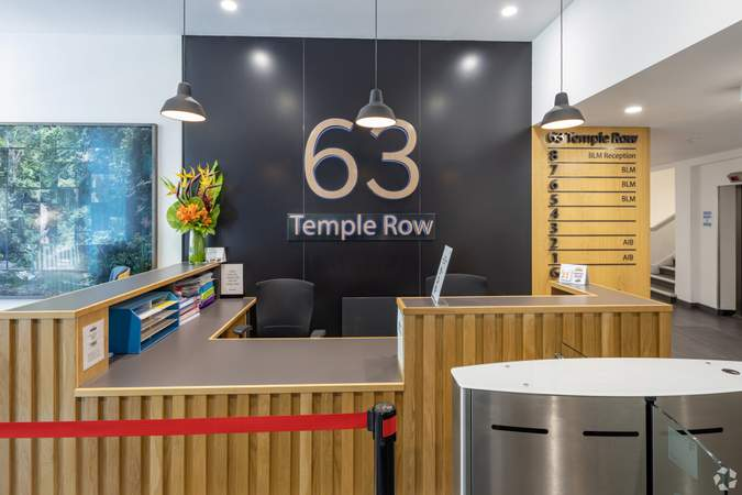 Ground Floor Reception - 63 Temple Row, Birmingham - Office for rent - 4,152 to 8,308 sq ft