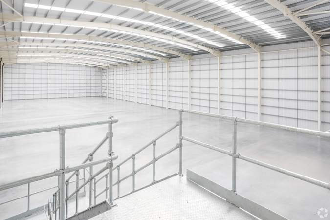 Stair access from first floor into warehouse - Dartford X, Unit A, Dartford - Industrial unit for rent - 75,277 sq ft