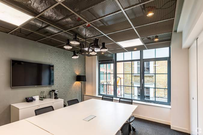Meeting Room - Eagle House - Old Street, London - Co-working space for rent - 130 to 17,000 sq ft