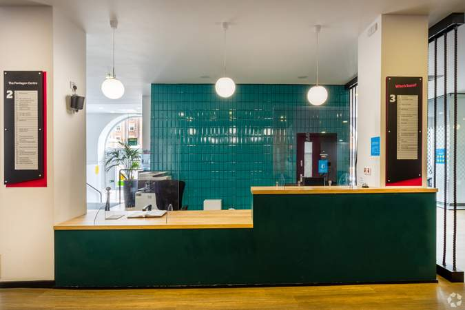Lobby - The Pentagon Centre, Glasgow - Office for rent - 163 to 1,636 sq ft
