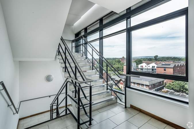6th Floor - Stairwell - 120 Bark St, Bolton - Serviced office for rent - 50 to 7,620 sq ft