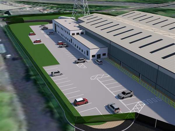 Building Photo CGI - Walkmill Lane, Cannock - Industrial unit for rent - 141,377 sq ft