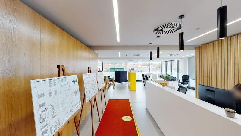 Reception and Lounge - The Henley Building, Henley On Thames - Co-working space for rent - 50 to 17,787 sq ft