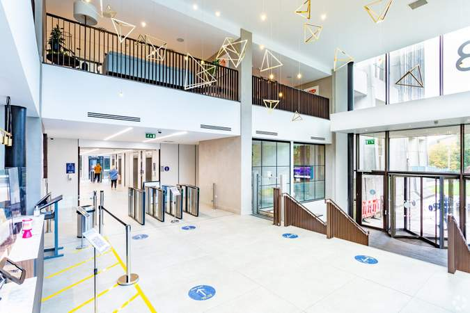 Lobby - Brunel House, Cardiff - Co-working space for rent - 50 to 14,530 sq ft