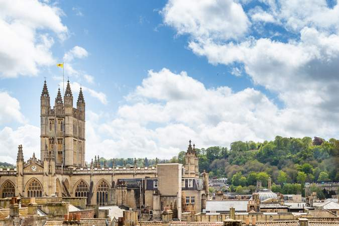 View from window - Northgate House, Bath - Co-working space for rent - 50 to 11,764 sq ft