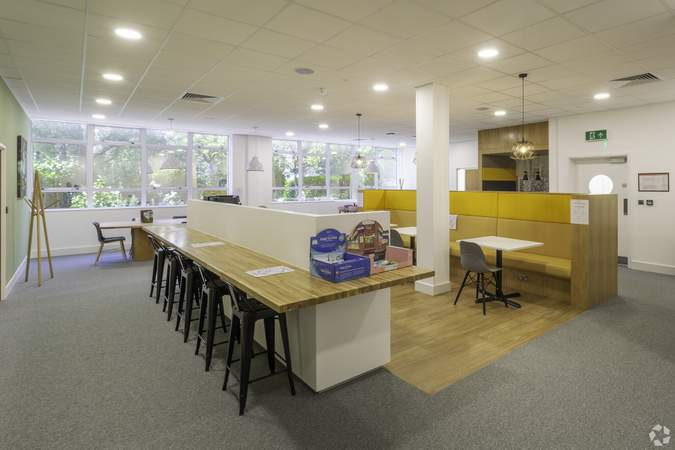Breakout Area Ground Floor - Gibson House, Huntingdon - Serviced office for rent - 50 to 4,047 sq ft