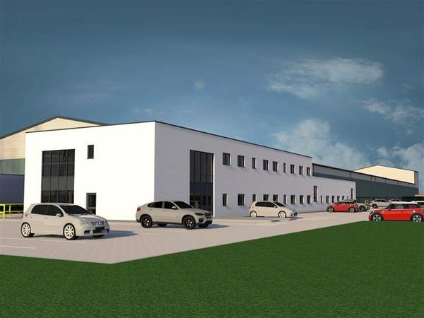 Office Accommodation CGI - Walkmill Lane, Cannock - Industrial unit for rent - 141,377 sq ft
