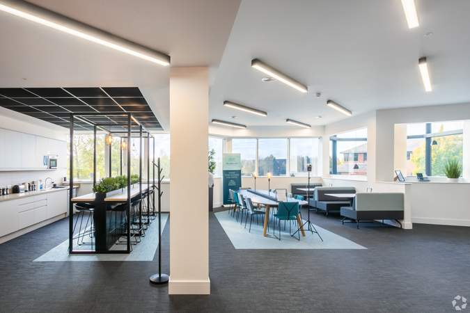 Breakout Area (1st Floor) - The Lambourn, Abingdon - Office for rent - 5,631 to 47,015 sq ft