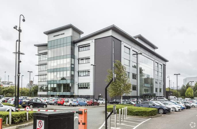 Primary Photo - Centenary House, Salford - Serviced office for rent - 50 to 22,000 sq ft