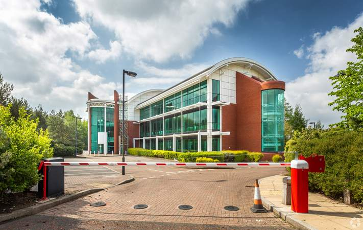 View from Barrier - 1200 Daresbury Park, Warrington - Office for rent - 10,110 to 31,250 sq ft