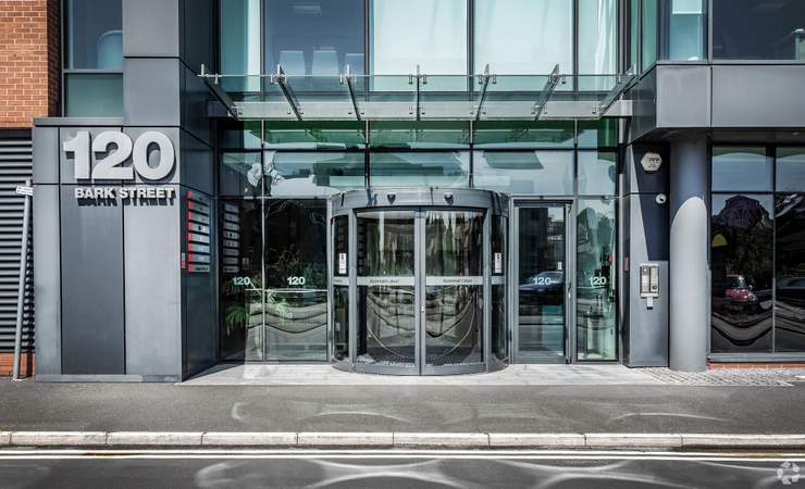 Entrance - 120 Bark St, Bolton - Serviced office for rent - 50 to 7,620 sq ft