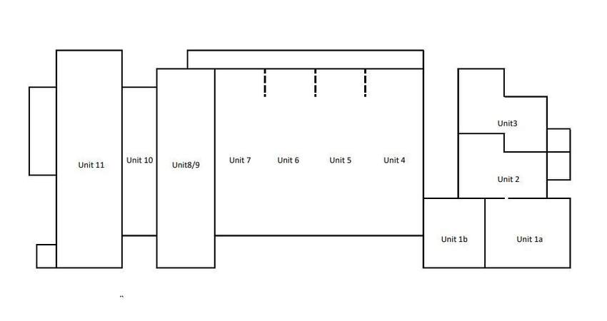 Site Plan - Stafford Court, Units 1-11, Wolverhampton - Industrial unit for rent - 5,000 to 7,600 sq ft