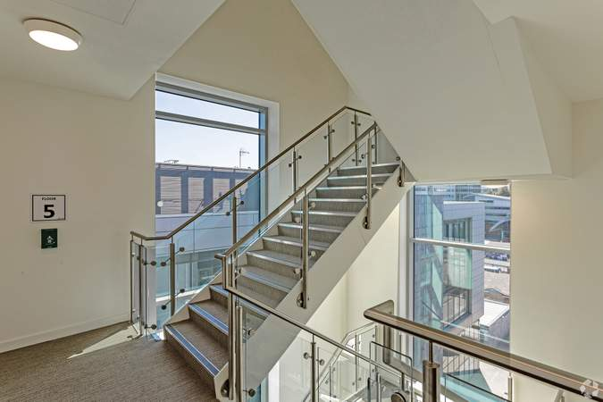 5th Floor Stairs - Acero, Sheffield - Serviced office for rent - 50 to 15,000 sq ft