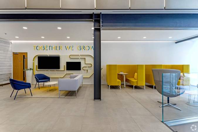 Lobby - The Foundry, Assembly London, London - Co-working space for rent - 50 to 46,041 sq ft