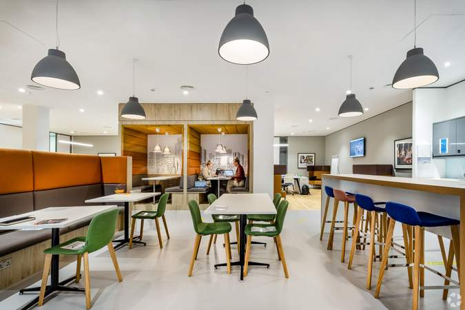 4th Floor - Dining / Work Area - Centenary House, Salford - Serviced office for rent - 50 to 22,000 sq ft