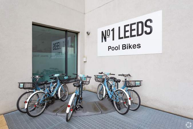 Pool Bike Area - No.1 Leeds, Leeds - Co-working space for rent - 100 to 13,902 sq ft
