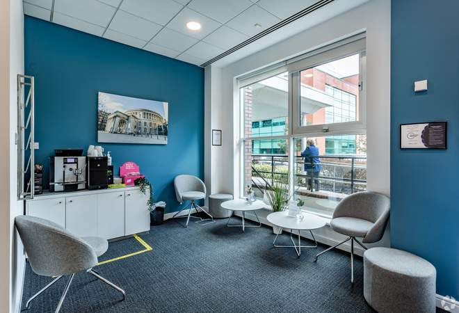 Waiting Area - Adamson House, Towers Business Park, Manchester - Co-working space for rent - 200 to 16,249 sq ft