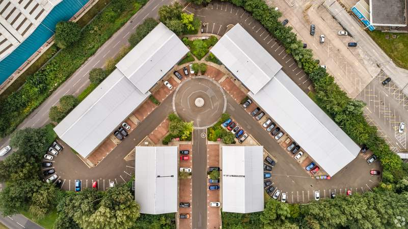 Aerial Image - Quay Business Centre, Quay Business Centre, Warrington - Office for rent - 426 to 3,056 sq ft