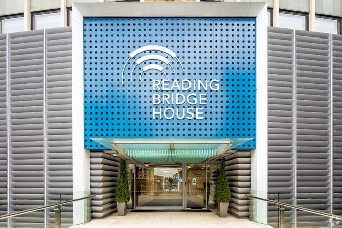 Main Entrance - Reading Bridge House, Reading - Office for rent - 2,063 to 5,737 sq ft