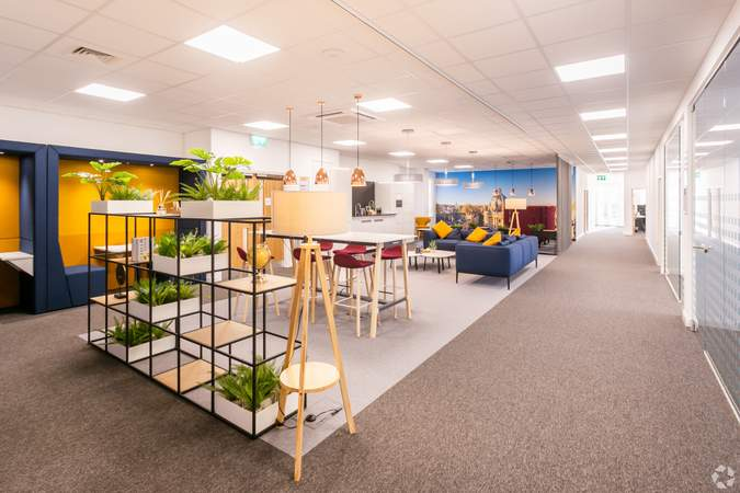 1st Floor Breakout Area - New Barclay House, Oxford - Co-working space for rent - 50 to 10,539 sq ft