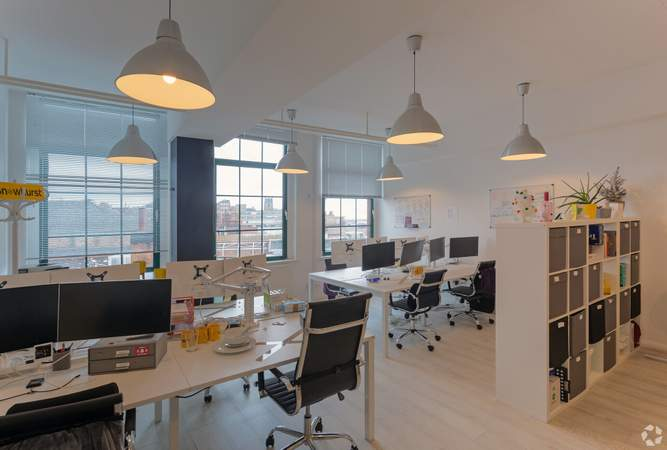 Interior Photo - St Nicholas Court, Nottingham - Office for rent - 100 to 12,500 sq ft