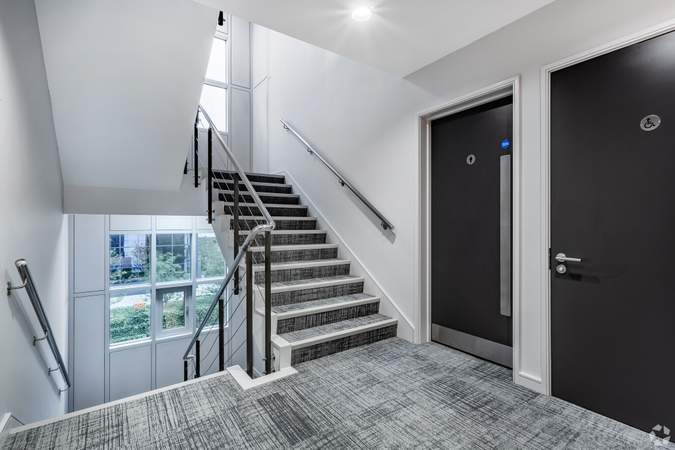 Ice Building - Stairs Access and Facilities - ICE Building, Salford - Office for rent - 4,010 to 9,222 sq ft