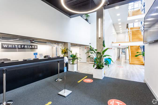 Reception - Whitefriars, Bristol - Office for rent - 1,351 to 3,172 sq ft