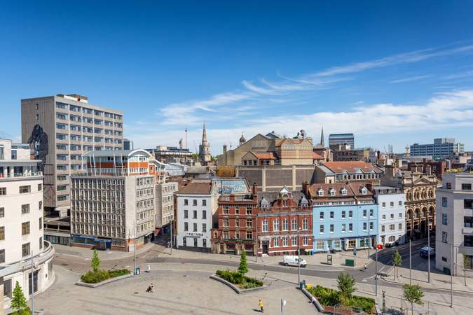 Rooftop view - 33 Bristol, Bristol - Office for rent - 5,571 sq ft