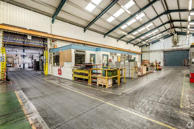 Internal Working Areas - Erasteel Stubs Ltd, Warrington - Industrial unit for sale - 40,903 sq ft