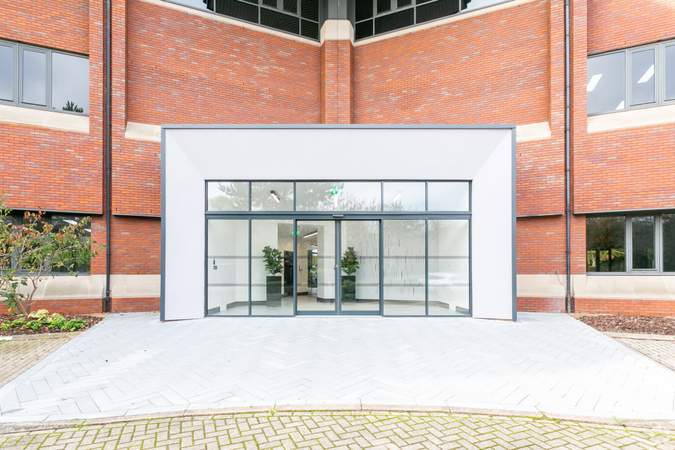 Rear Entrance - The Lambourn, Abingdon - Office for rent - 5,631 to 47,015 sq ft