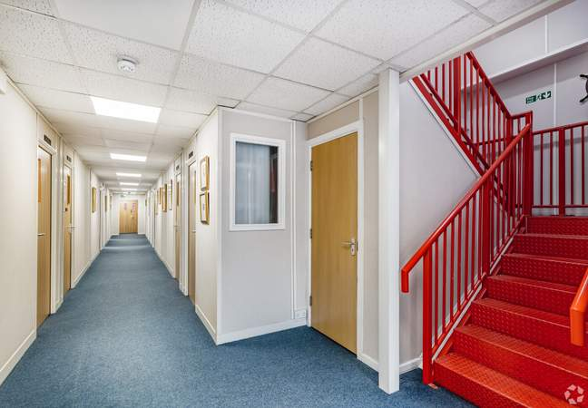 Ground Floor Corridor - St Andrews Business Centre, Liverpool - Office for rent - 68 to 135 sq ft