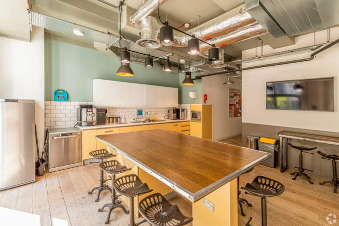 Kitchen - Eagle House - Old Street, London - Co-working space for rent - 130 to 17,000 sq ft