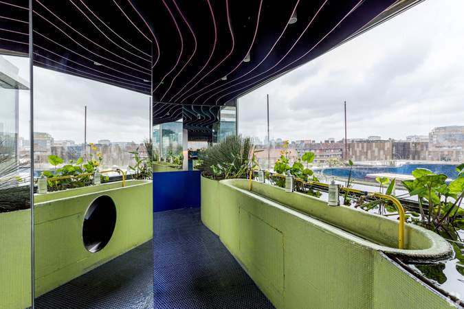 Toilet - Second Home Spitalfields, London - Co-working space for rent - 120 to 1,900 sq ft