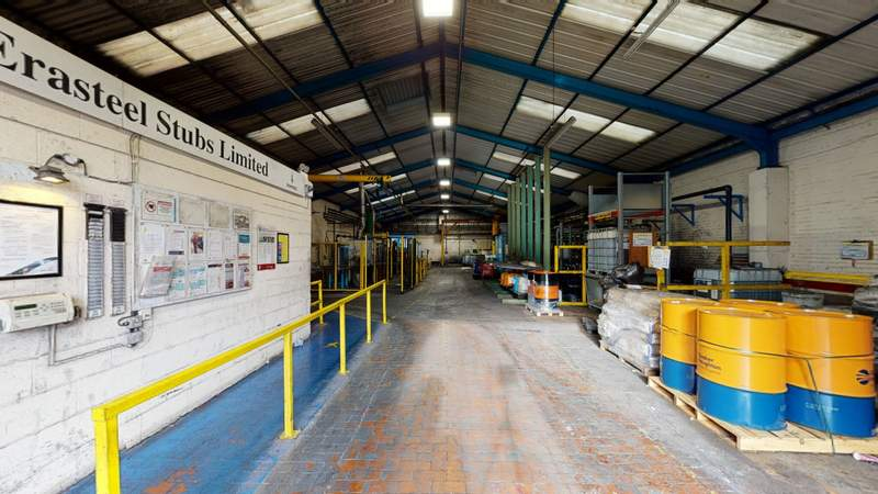 Erasteel Stubbs - Erasteel Stubs Ltd, Warrington - Industrial unit for sale - 40,903 sq ft