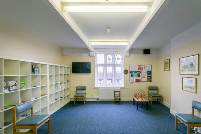 1st Floor - Waiting Area - Morland House Surgery, Oxford - Healthcare space for sale - 12,397 sq ft