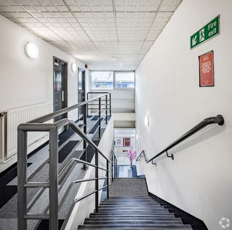 Staircase - Quay Business Centre, Quay Business Centre, Warrington - Office for rent - 426 to 3,056 sq ft