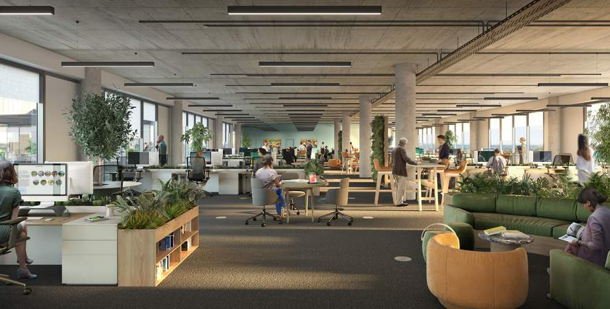Fitted Office - Campus, Reading International, Reading - Office for rent - 1,490 to 178,620 sq ft