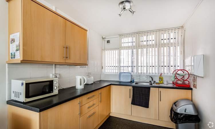 First Floor Kitchen - St Andrews Business Centre, Liverpool - Office for rent - 68 to 135 sq ft