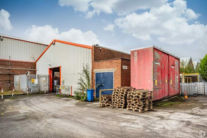 Building Image - Erasteel Stubs Ltd, Warrington - Industrial unit for sale - 40,903 sq ft