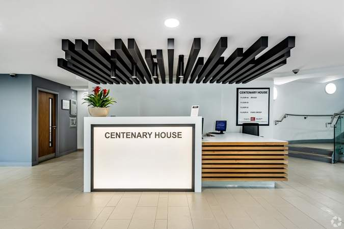 Main Building - Reception - Centenary House, Salford - Serviced office for rent - 50 to 22,000 sq ft