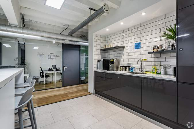 2nd Floor - 1st Office Suites - Kitchen - The Tea Factory, Liverpool - Serviced office for rent - 150 to 7,032 sq ft