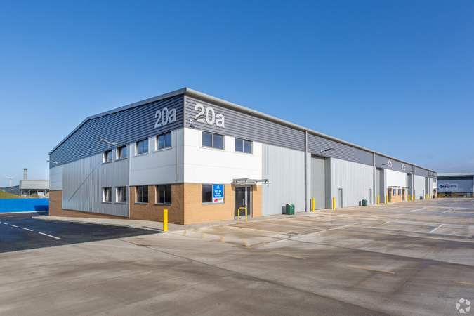 Primary Photo - Block 20, Kings Weston Ln, Access 18, Bristol - Industrial unit for sale - 7,953 sq ft